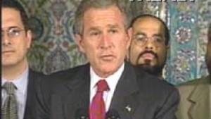 "Bush nennt Islam ""Religion des Friedens"""