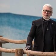 Der alte Mann und das Meer: Im Oktober 2018 trat Karl Lagerfeld nochmal bei der Chanel-Schau auf.