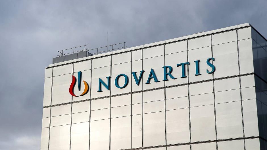 Nur gucken, nicht zeichnen gilt auch für Novartis.