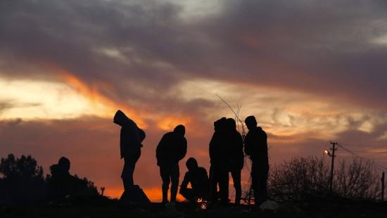 Schleuser wollen Flüchtlinge nach Europa bringen