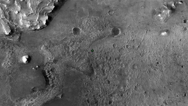 Mars-Tonaufnahmen der NASA: So klingt es auf dem Planeten - FAZ - Frankfurter Allgemeine Zeitung