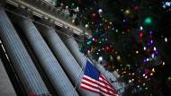Besinnlicher Optimismus: Weihnachten an der Wall Street