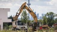 Steigende Immobilienpreise: Neubaugebiet in Frankfurt