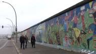 Mauerkunstwerk East Side Gallery wird saniert