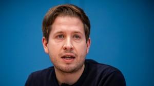 """Kühnert ist gegen """"Ausschließeritis"""", schließt aber Ministeramt aus"""