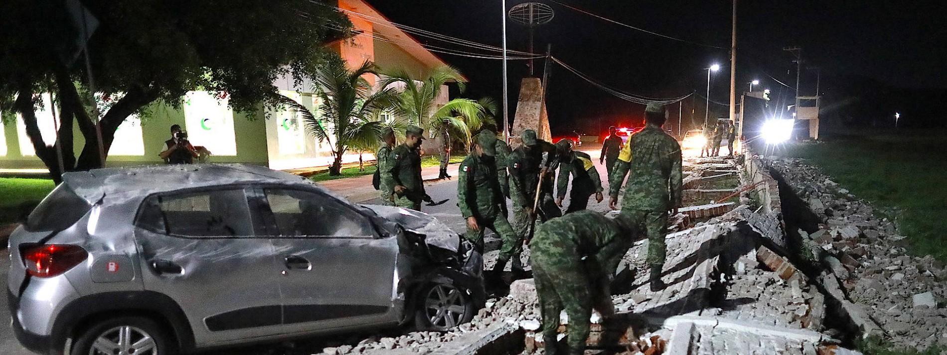 Erdbeben der Stärke 7,0 im Süden Mexikos