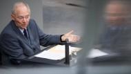 Gemeinsame Anleihen von Bund und Ländern? Wolfgang Schäuble hält nichts davon.