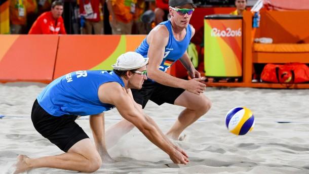 Böckermann und Flüggen unterliegen zum Olympia-Start