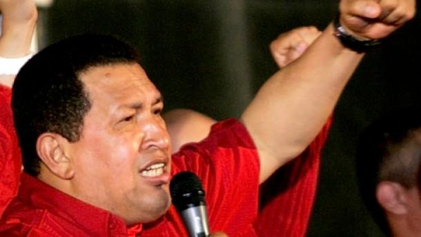 Chavez droht den Vereinigten Staaten mit Ölstopp