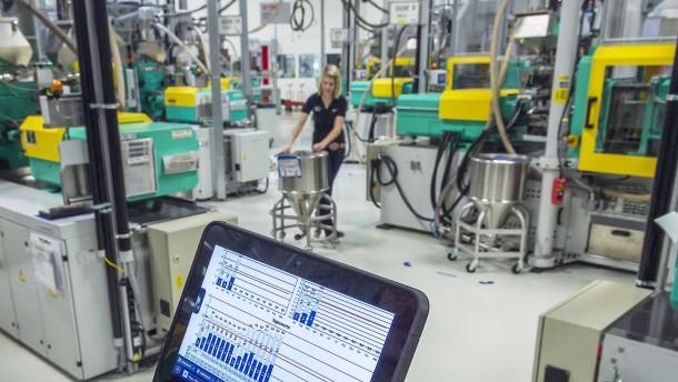 Digitalisierung in der EU-Industrie uneinheitlich