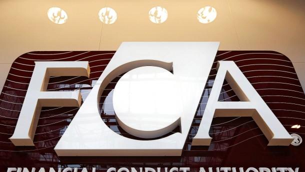 Britische Finanzaufsicht ermittelt gegen Banken