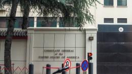 China ordnet Schließung von amerikanischen Konsulat an