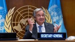 António Guterres bleibt bis 2026 UN-Generalsekretär
