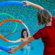 Wassergymnastik als Teil des Reha-Programms