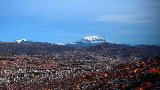 La Paz geht das Wasser aus