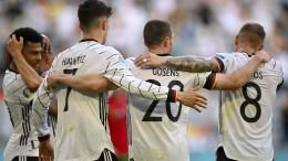 DFB-Elf wieder in der Spur