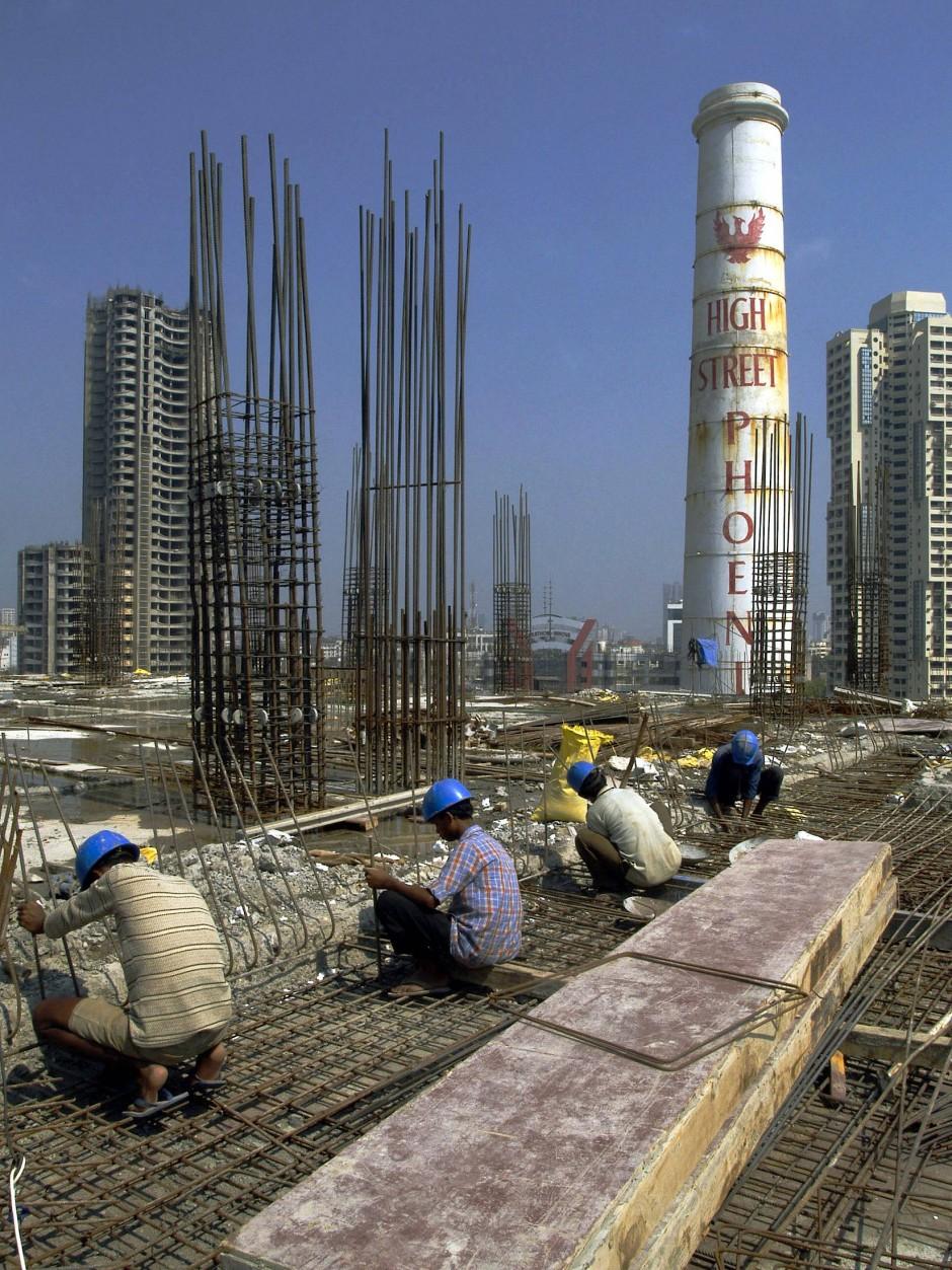 Starkes Team: Beton und Stahl