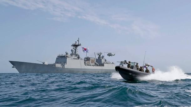 Iran setzt südkoreanischen Frachter fest