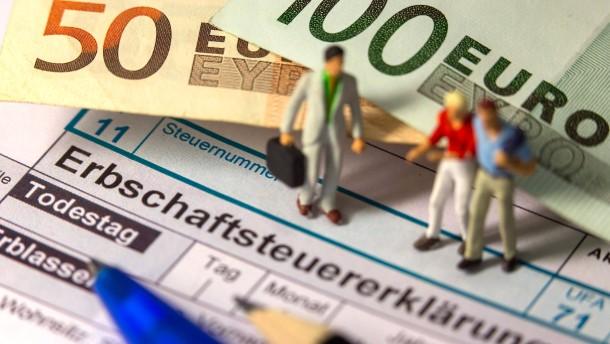 Die jungen Finanzmittel in der Erbschaftsteuer