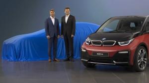 BMW setzt sich unter Strom
