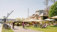 Mehr Radfahrer und Fußgänger. Das fordert die Frankfurter Grüne in ihrem Wahlkampf.
