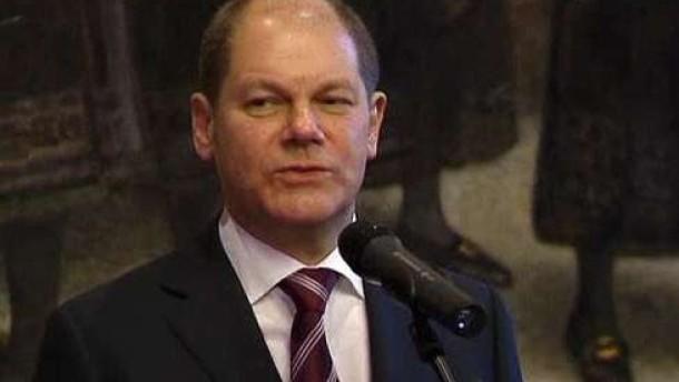 Olaf Scholz zum Ersten Bürgermeister gewählt