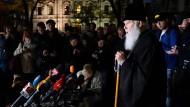 Ein Schlag für Moskau: Patriarch Filaret soll den Weg für eine eigenständige orthodoxe Kirche in der Ukraine ebnen.