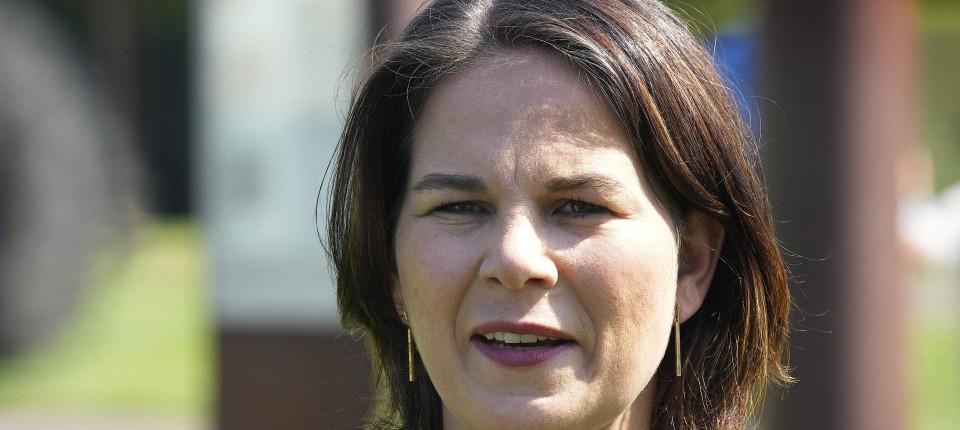 Die grüne Kanzlerkandidatin Annalena Baerbock fordert eine Koalition der Aufnahmewilligen
