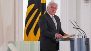 Bundespräsidialamt weist Kritik an Weltkriegs-Gedenken zurück