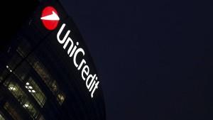 Unicredit streicht 3900 Jobs in Italien