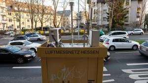 Die allermeisten Luftmessstationen in Hessen stehen richtig