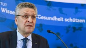 RKI-Chef Wieler warnt vor leichtfertigem Verhalten