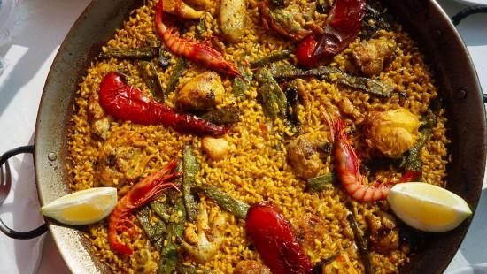 Die spanische Paella