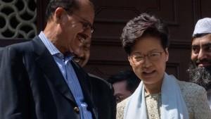 Regierungschefin Lam soll angeblich ausgetauscht werden