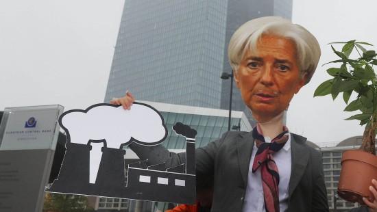 Neue EZB-Chefin Christine Lagarde empfangen