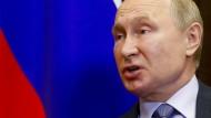 Der russische Präsident Wladimir Putin ist ein bekennender Netzskeptiker.