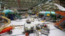 Boeing hat mit dem nächsten Flugzeug Probleme