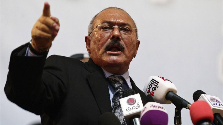 Ex-Präsident Saleh von Rebellen getötet