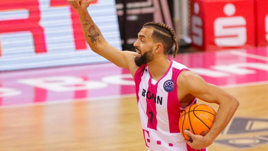 Folgenreicher Protest: Basketballspieler Joshiko Saibou wurde von seinem Klub entlassen.