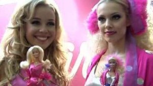 Barbies rosa Partyträume