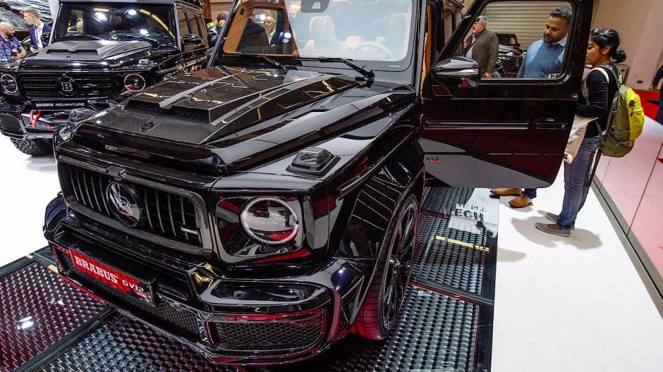 Mit dem Brabus G V12 900 wird auf der IAA der nach Herstellerangaben stärkste Zwölfzylinder Geländewagen der Welt präsentiert.