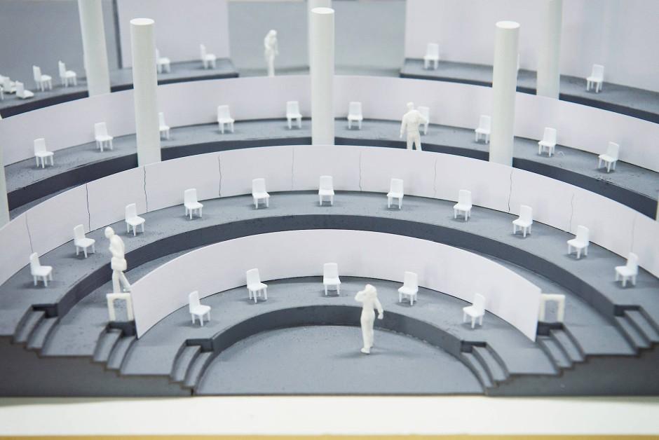 """Zeitreise: Die Ausstellung """"Thonet & Design"""", hier als Modell, wird am Donnerstag in München eröffnet"""