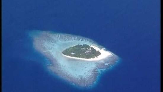 Malediven - das Wasser bis zum Hals