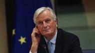 Das Brexit-Abkommen sei nur ein erster Schritt, dem die Regelung des Verhältnisses zwischen der EU und dem Nichtmitglied Großbritannien folgen müsse, sagt Brexit-Chefunterhändler Michel Barnier.