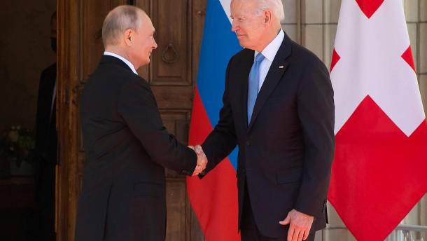 Gipfeltreffen zwischen Biden und Putin