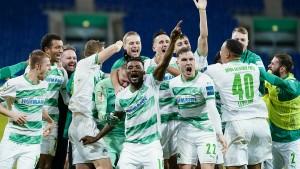 Showdown im DFB-Pokal kurz vor Heiligabend