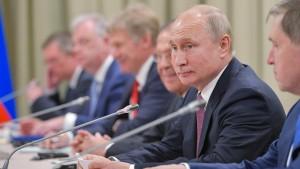 Putin entlässt Polizei-Generäle