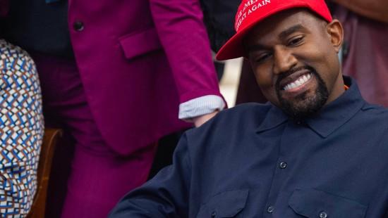 Rapper Kanye West will Präsident werden