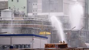 Schwefelsäurehaltige Rauchwolke über Frankfurter Osten