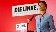 Einer Koalition nicht abgeneigt: Fraktionsvorsitzende der Linkspartei Sahra Wagenknecht.